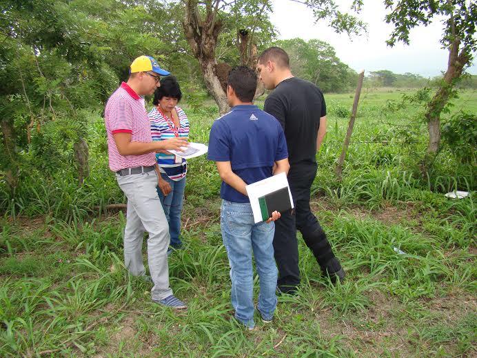 El alcalde junto al Seguridad Ciudadana del estado Yaracuy y la representante del FONEP inspeccionaron el terreno donde podría construirse la nueva cárcel de Yaracuy