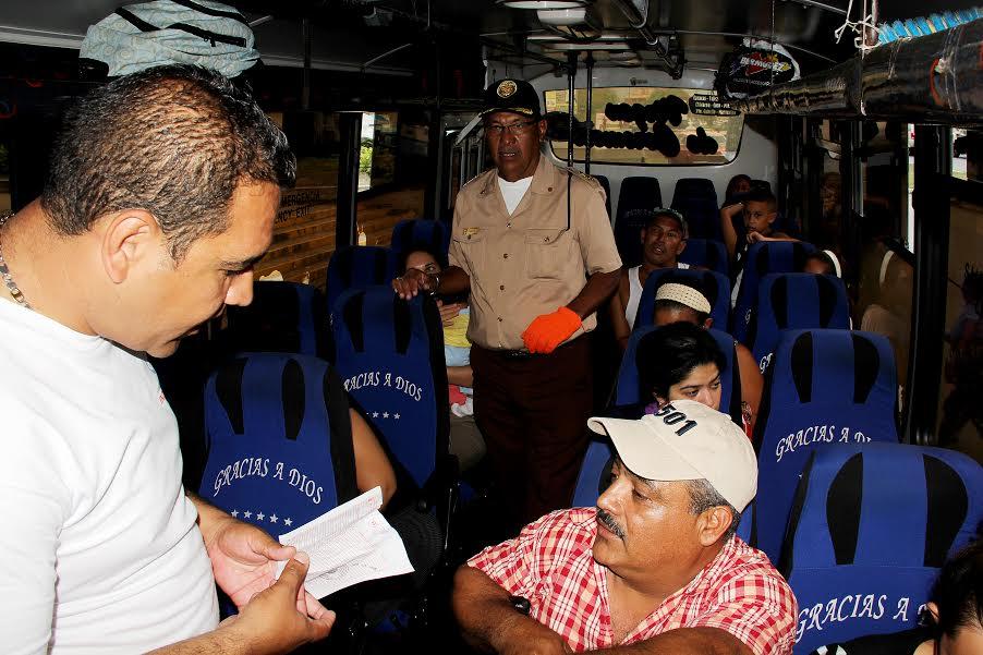 A partir del martes 09 de Junio sancionarán a transportistas de la Terminal de Pasajeros de Independencia que no lleven  control de listines