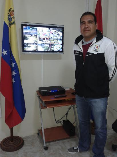 Carrillo explicó que gracias al sistema de televigilancia se ha logrado frusta varios robos y atracos