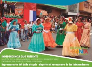 DESFILE DIA DE YARACUY - baile de antaños