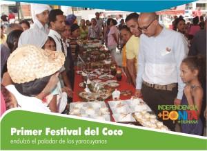 festival del coco - degustacion